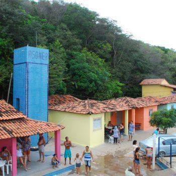 Foto Vista Aérea Das Casas Revitalizadas